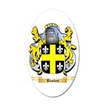 Bankes 20x12 Oval Wall Decal