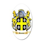 Bankes 35x21 Oval Wall Decal