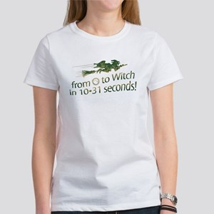 From 0 to Witch Women's T-Shirt