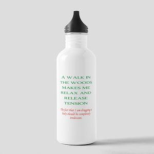 Walk in the woods Water Bottle
