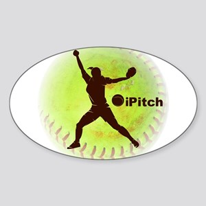 iPitch Fastpitch Softball Sticker