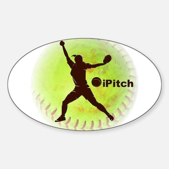 iPitch Fastpitch Softball Decal