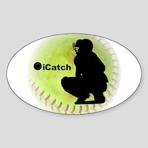iCatch Fastpitch Softball Sticker