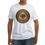Aztec-ish Decor Fitted T-Shirt