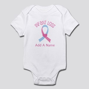 Personalized Infant Loss ribbon Infant Bodysuit