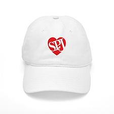 Red SPJ Love Baseball Cap
