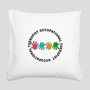 ot JEWELRY Square Canvas Pillow