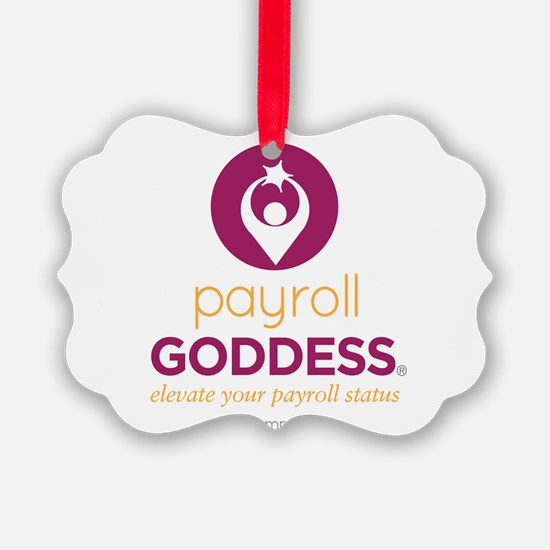 PaycheckCity Payroll Goddess Ornament