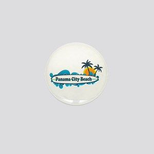 Panama City Beach - Surf Designs. Mini Button
