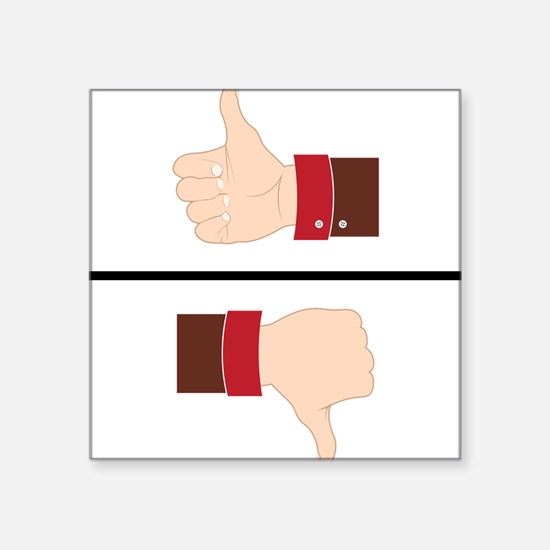 Thumbs Up or Down? Sticker