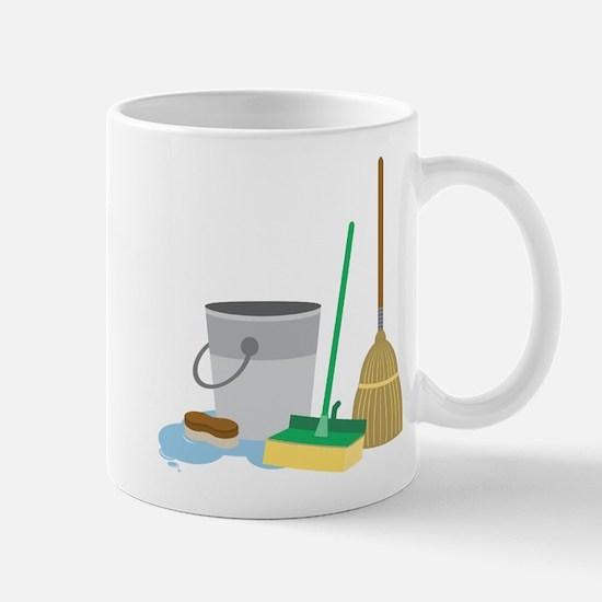 Cleaning Supplies Mug
