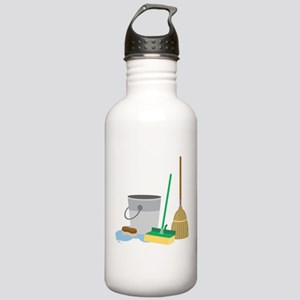 Cleaning Supplies Water Bottle