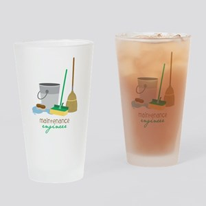 Maintenance Engineer Drinking Glass