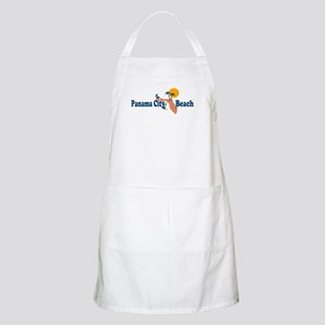 Panama City Beach - Map Design. Apron