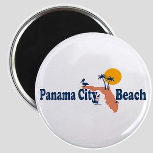 Panama City Beach - Map Design. Magnet