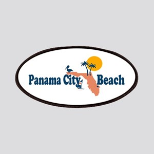 Panama City Beach - Map Design. Patches