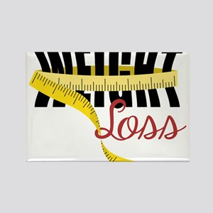 Weight Loss Rectangle Magnet