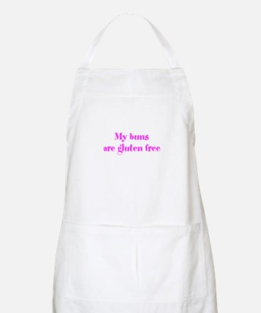 My buns are gluten free Apron