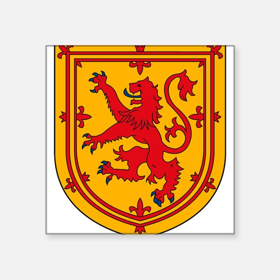 Scottish Coat of Arms Rectangle Sticker