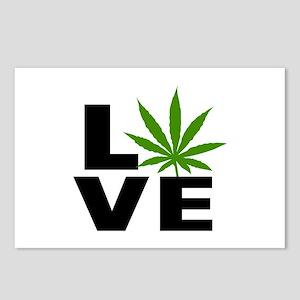 I Love Marijuana Postcards (Package of 8)