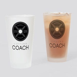 Lifting Coach Drinking Glass