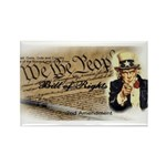 bill of rights 2nd admend1 lp Rectangle Magnet (10