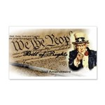 bill of rights 2nd admend1 lp Wall Decal