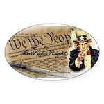 bill of rights 2nd admend1 lp Sticker