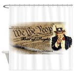 bill of rights 2nd admend1 lp Shower Curtain