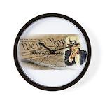 bill of rights 2nd admend1 lp Wall Clock