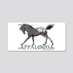 Appaloosa Horse Aluminum License Plate