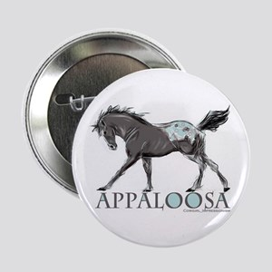 "Appaloosa Horse 2.25"" Button"