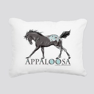 Appaloosa Horse Rectangular Canvas Pillow