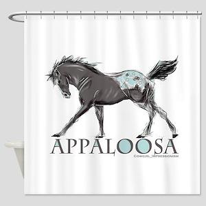Appaloosa Horse Shower Curtain