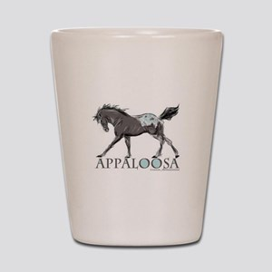 Appaloosa Horse Shot Glass
