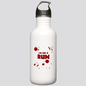 I'm on a run Stainless Water Bottle 1.0L