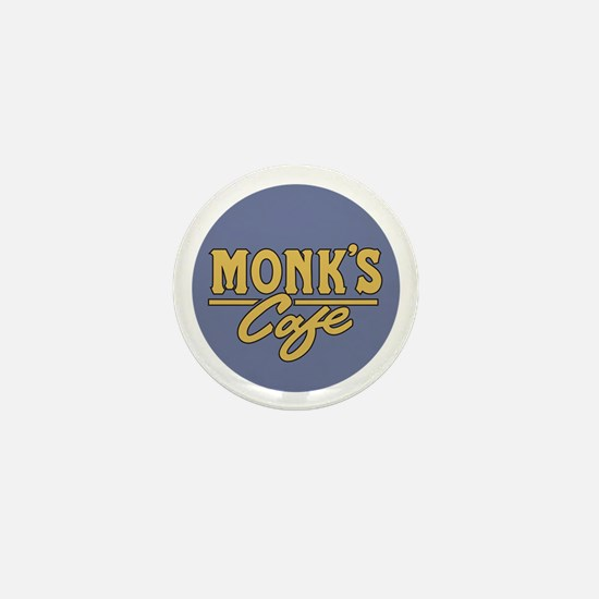 Funny Monk Mini Button