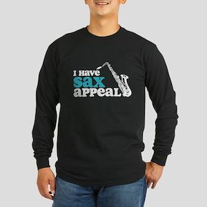 Sax Appeal Long Sleeve Dark T-Shirt