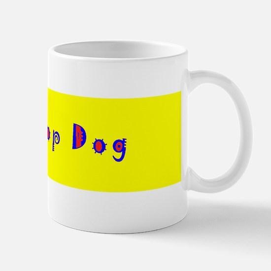 Top Dog Dog Trainer Designer Mug