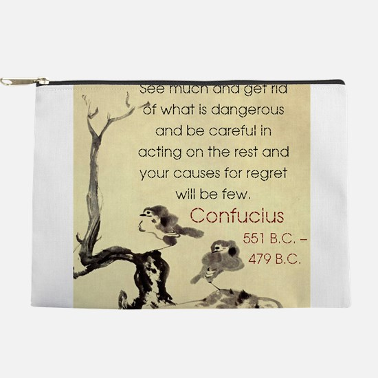 See Much And Get Rid Of - Confucius Makeup Pouch