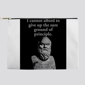 I Cannot Afford To Give Up - Socrates Makeup Pouch