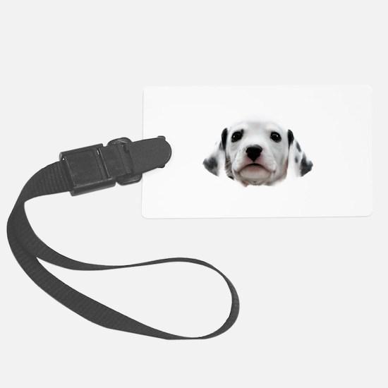 Dalmatian Puppy Face Luggage Tag
