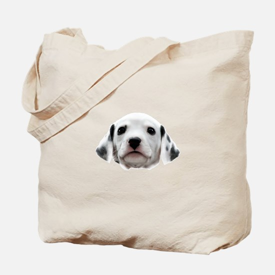 Dalmatian Puppy Face Tote Bag