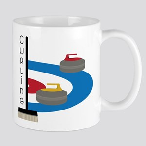 Curling Field Mug