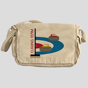 Curling Team Messenger Bag