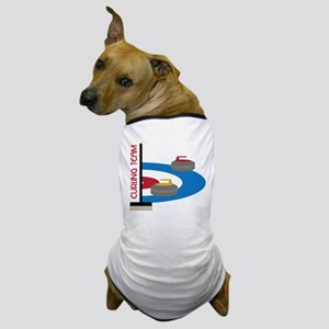 Curling Team Dog T-Shirt
