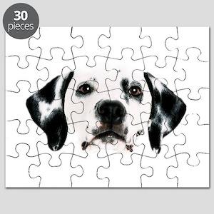 Dalmatian Face Puzzle