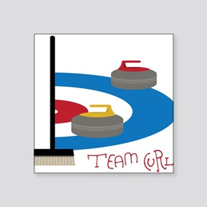 Team Curl Sticker