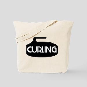 Curling Stone Tote Bag