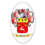 Banker Sticker (Oval 50 pk)